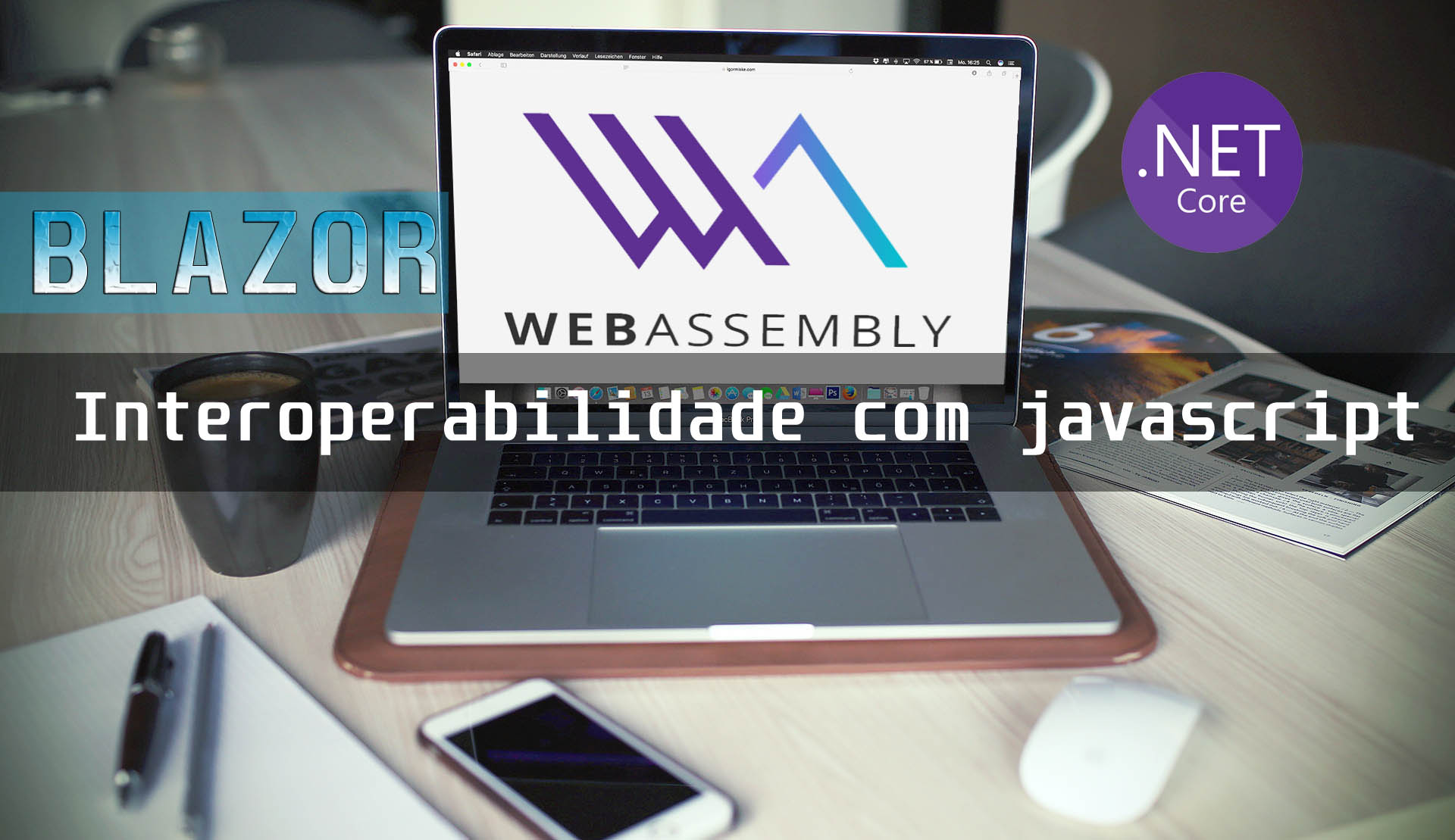 Blazor - Interoperabilidade com Javascript
