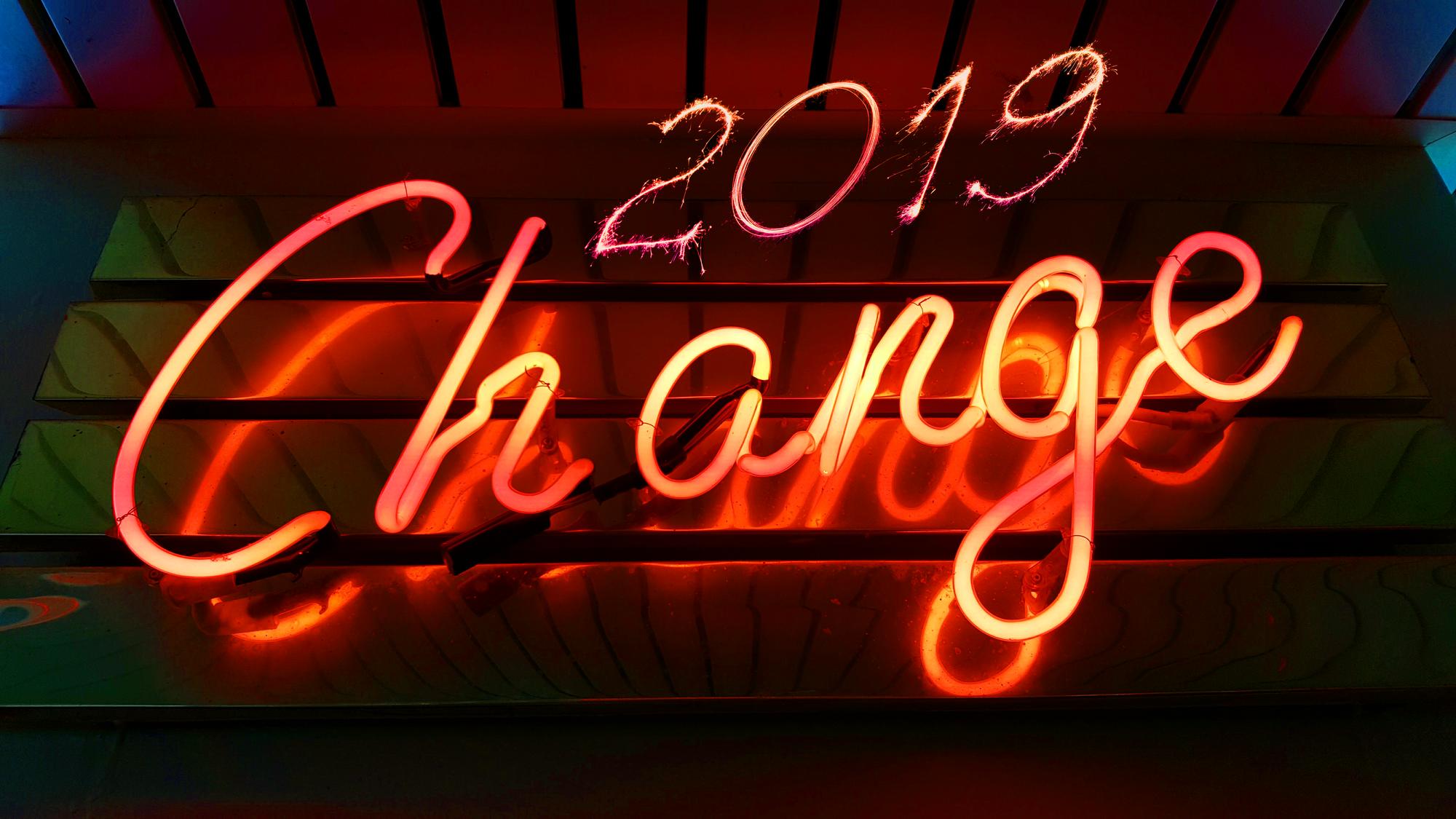 2019 - Um ano de mudanças